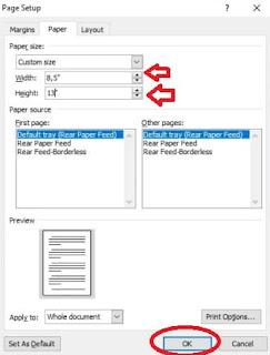 Cara-Setting-Ukuran-F4-pada-Word