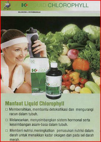 Manfaat K-LIQUID CHLOROPHYLL