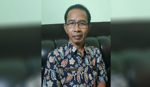 Plt Kepala Dinas Perpustakaan dan Arsip Lumajang Edi Irianto