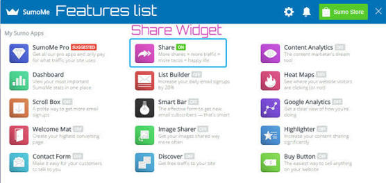 Step by step guide to install Floating Social Share widget to your blogger blog