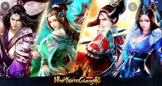 Tải game Nhất Kiếm Giang Hồ Việt hóa Train rơi KNB cực nhiều + Code 10.000.000 KNB    App tải game Trung Quốc