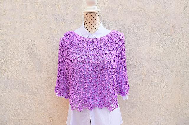 1 - Crochet Imagen Capa para mujer a crochet y ganchillo por Majovel crochet