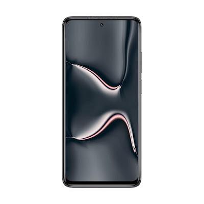 XIAOMI MI 10i 5G - MIDNIGHT BLACK - FRONT VIEW
