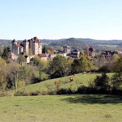 Skyline of Curemonte.