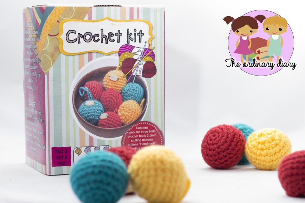 The Ordinary Diary Crochet Kit Basics