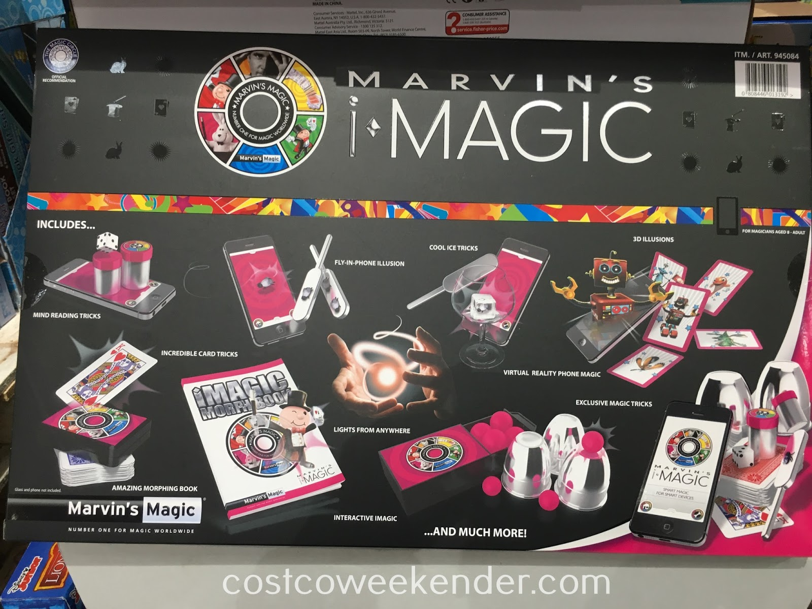 Costco 945084 - Marvin's Magic Master of Illusion iMagic Set - great for kids