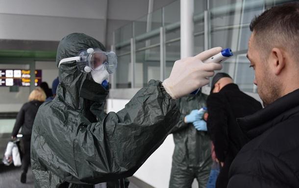 В аеропорту Бориспіль у чоловіка виявили коронавірус