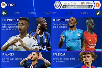 Download Game Android FIFA 20 Mobile UCL Edition 2020