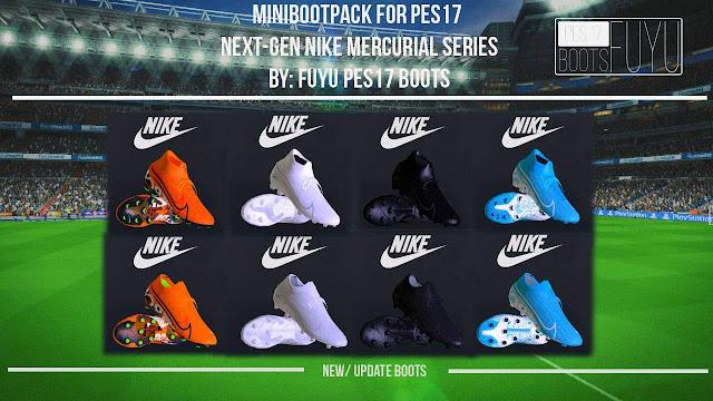 PES17 Mini Bootpack Next-Gen Mercurial Series by Fuyu