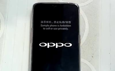Cara flash Oppo F9 CPH1823 via SP FlashTool