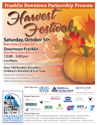 Adult volunteers needed for the Harvest Festival - Oct 5