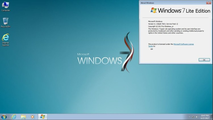 Download Windows 7 Lite Edition 32 / 64 Bit ISO