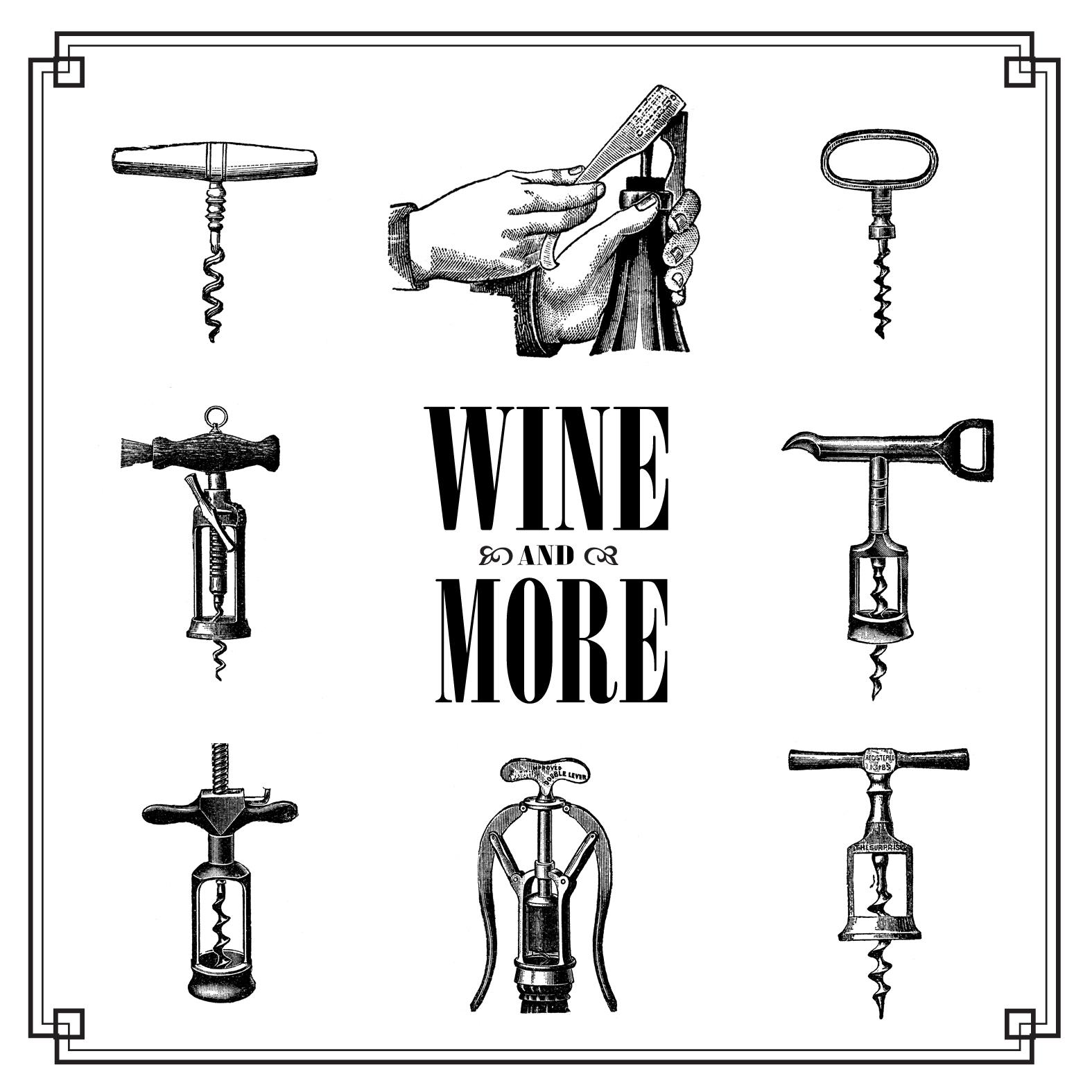 Free Vintage Clip Art Images Vintage Corkscrew Wine Openers