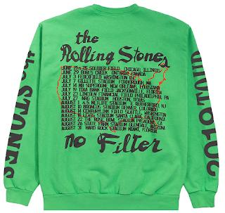 Rolling Stones Tour Sweatshirt 2019