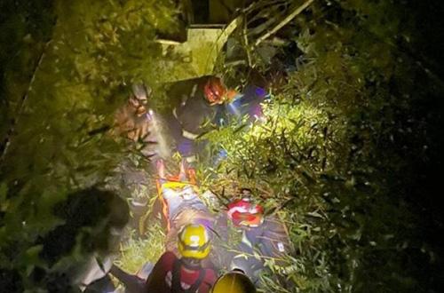 ônibus da Gontijo cai em ribanceira deixa oito mortos e 44 feridos