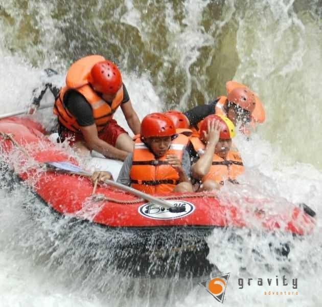 Rafting Gravity Pangalengan Bandung Selatan