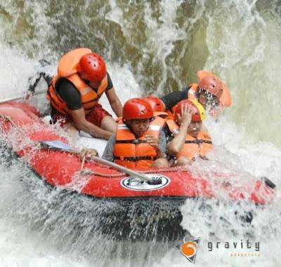 jeram di Sungai Palayangan