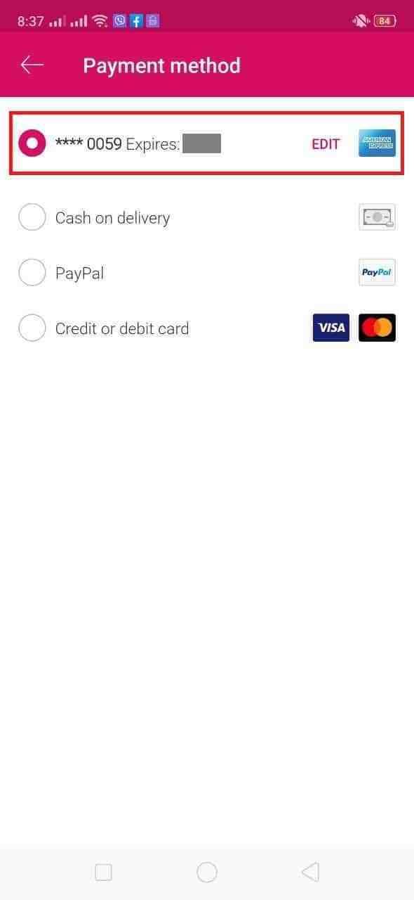 Pay your food in foodpanda using gcash