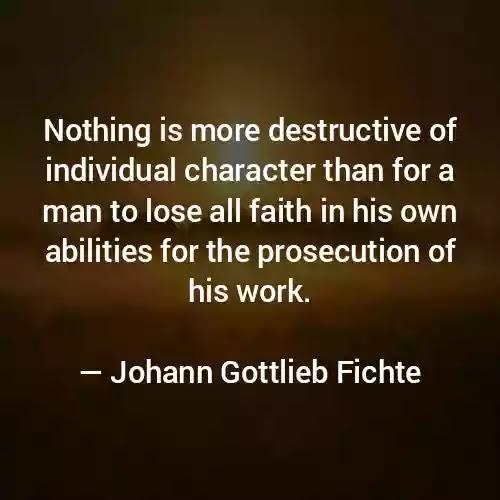 Johann Gottlieb Fichte sayings