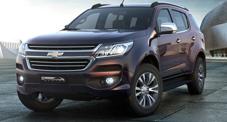 holden new car releaseFacelifted Holden Colorado 7 Coming As New Trailblazer SUV To