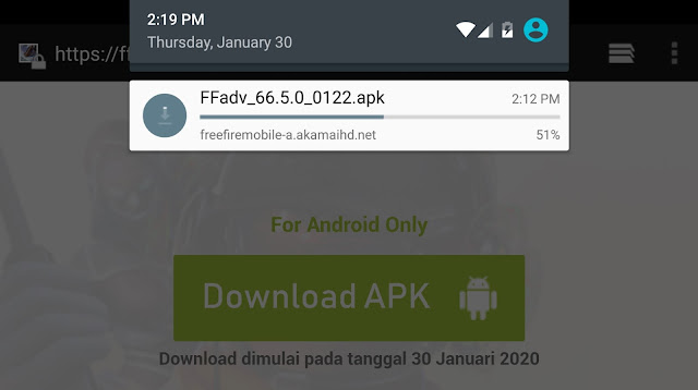 Download Advance Server Free Fire Version 66.5.0_022 APK Februari 2020