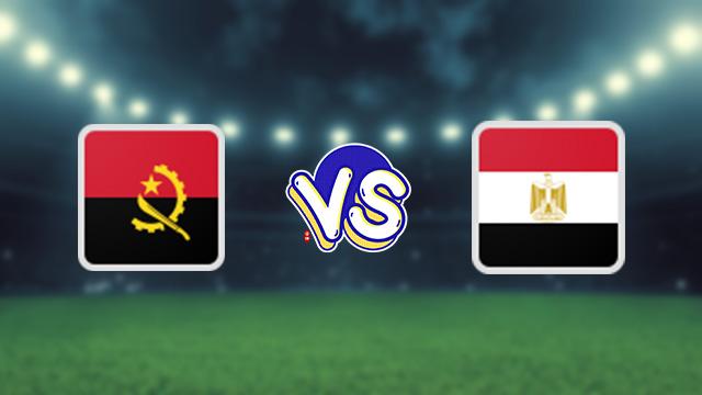 مباراة مصر ضد انغولا