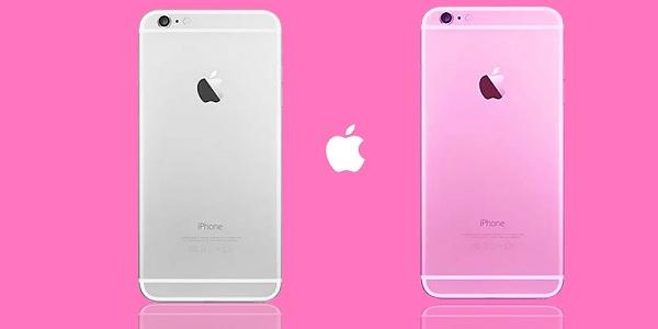 thay vỏ iphone 6 màu hồng giá rẻ