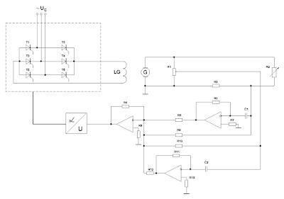 Принципиальная схема САР с учетом условий инвариантности и оптимальности