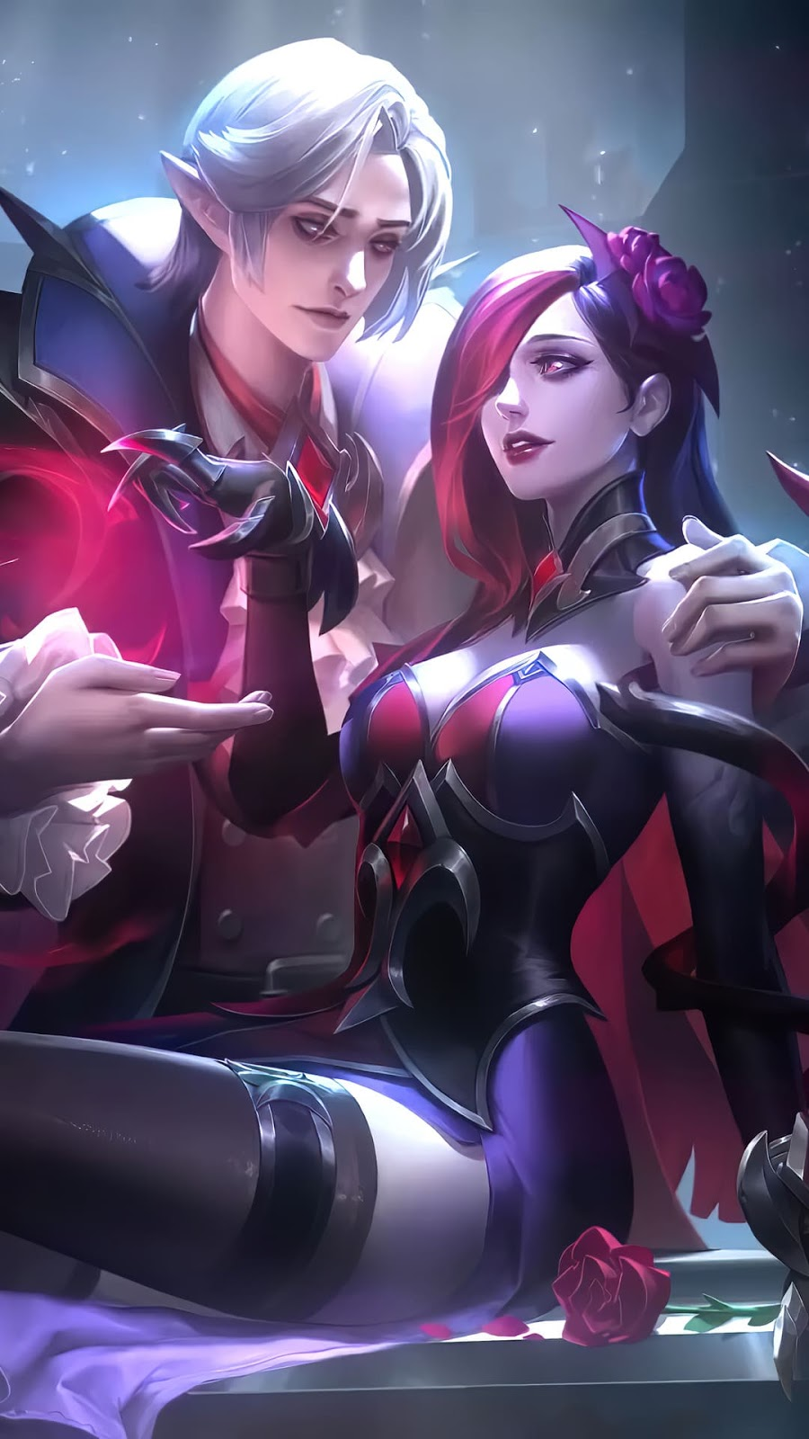 Wallpaper Cecilion and Carmilla Mobile Legends HD for Android and iOS