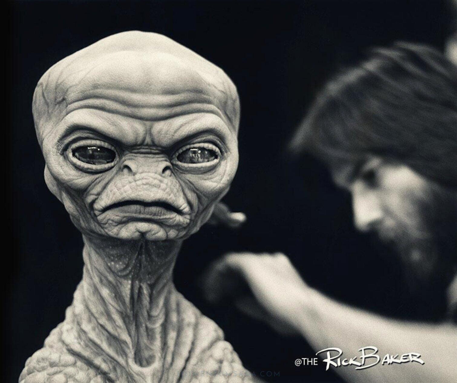 A bizarra origem de ET, o Extraterrestre