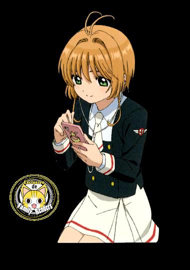 render sakura kinomoto 03 - CARD CLEAR