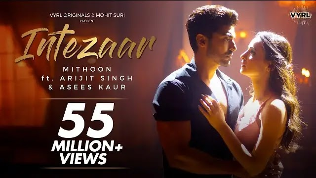 Intezaar song lyrics | Arijit singh song