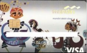 Mandiri Silver Debit design baru - chip
