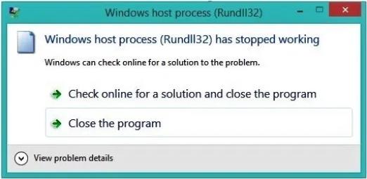 Solved - Windows host process (Rundll32) HIGH CPU usage