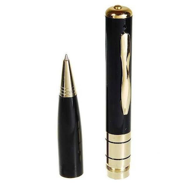 Review Spy pen BPR 6, Kamera tersembunyi berbentuk pulpen
