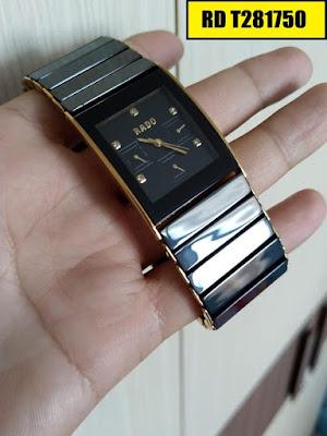 đồng hồ nam mặt vuông, đồng hồ nam mặt chữ nhật RD T281750
