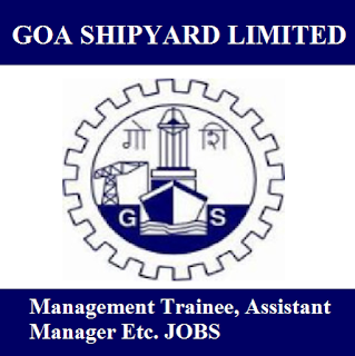 Goa Shipyard Limited, GSL, Goa, Management Trainee, Assistant Manager, Graduation, freejobalert, Sarkari Naukri, Latest Jobs, gsl logo