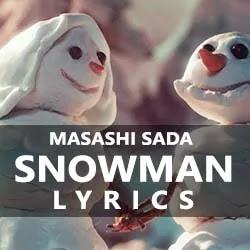 Snowman Song Lyrics in Text