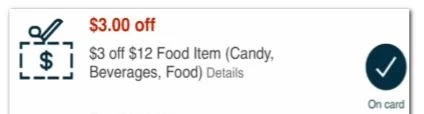 USE $3.00/12.00 any snack purchase CVS crt store Coupon (Select CVS Couponers)