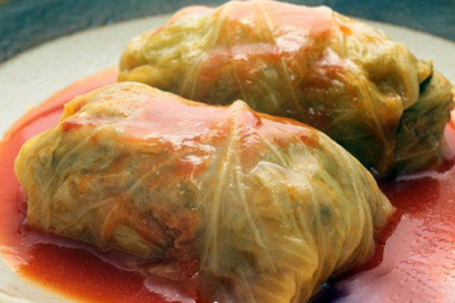 Slow Cooker Stuffed Cabbage Rolls , weight watchers recipes , 7 smart points
