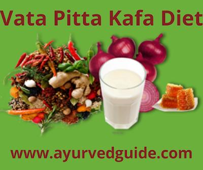 Vata Pitta Kafa Balancing Diets Lifestyle