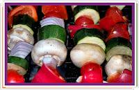 Zeleninový špíz - Recepty a vaření