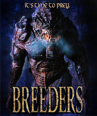 Cover art for Dark Force Entertainment's Blu-ray of BREEDERS (1997)!