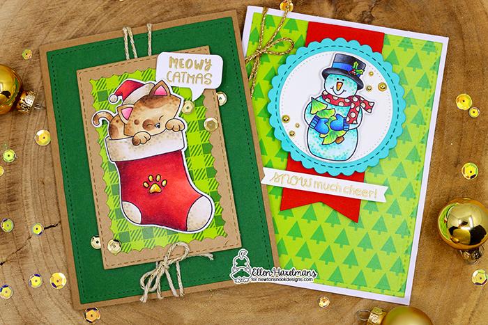 #newtonsnook #newtonsnookdesigns #handmadecard #cardmaking #stamping #fallcard #nnd #card #cardmaking #handmade #stampset #dieset #paperart #hobby #drawing #dutchcardmaker #MeowyChristmasPaperPad #NewtonsStockingsstampset #SnowMuchCheerstampset #christmascard #adventcalendar #diy #patternpaper #catcard #snowmencard #copiccoloring