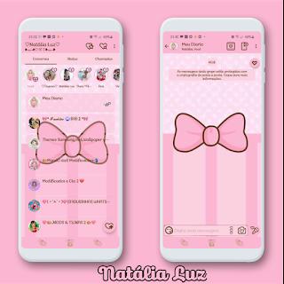 Hello Kitty Theme For YOWhatsApp & Aero WhatsApp By Natalia