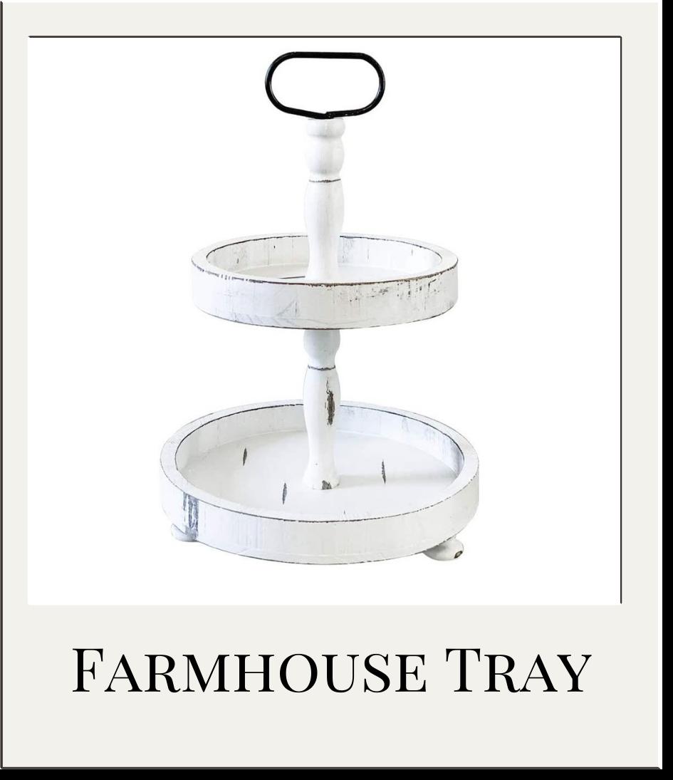 Farmhouse Tiered Tray
