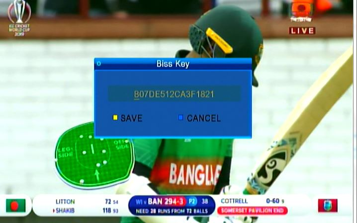 BTV National New Biss Key 2019 - All Satellite Biss Key Feed