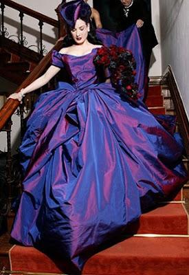 D - Vestidos de Noiva Coloridos - Inspirações