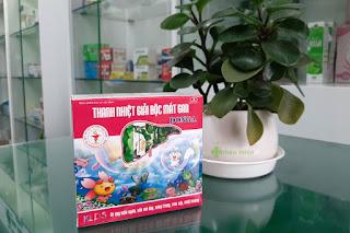 Thanh Nhiệt Giải Độc Mát Gan DongA, giúp thanh nhiệt, giải độc, mát gan