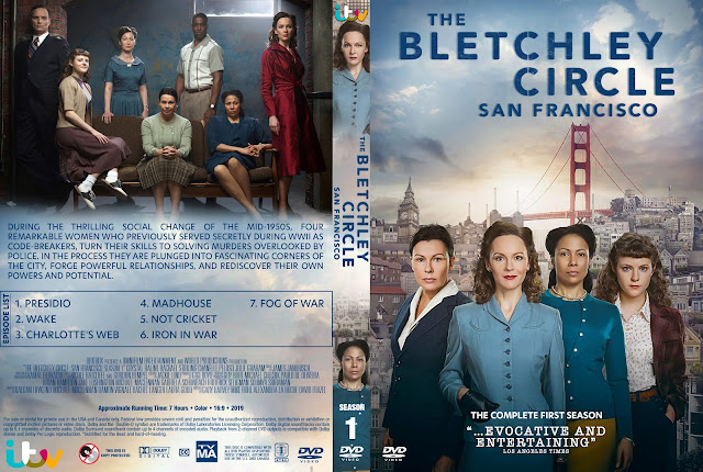 The Bletchley Circle: San Francisco DVD Cover